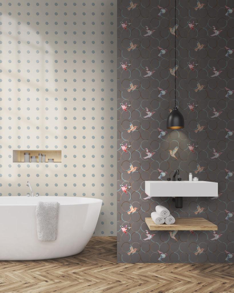 20 Ideen für Badezimmer mit Fliesen in Holzoptik – Badratgeber.com