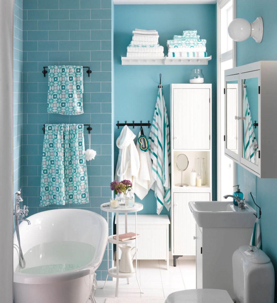 8 Ideen für farbige Wände im Badezimmer – Badratgeber.com