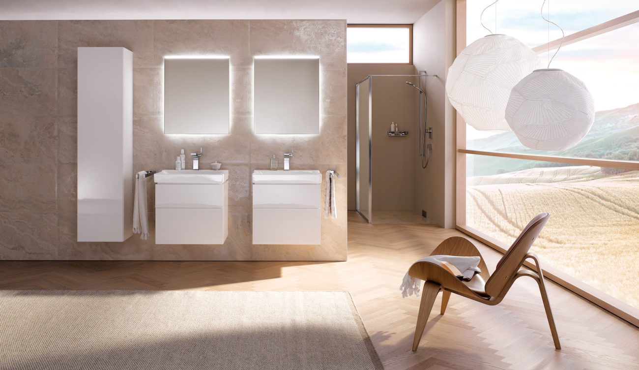"Smarte Beleuchtung im Badezimmer: ""emco light system"" steurt das Trends"