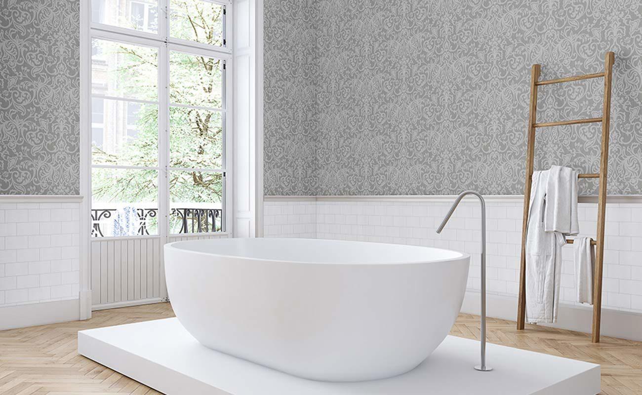 Tapeten Im Badezimmer Die Schonsten Ideen Fur Die Wandgestaltung Badratgeber Com