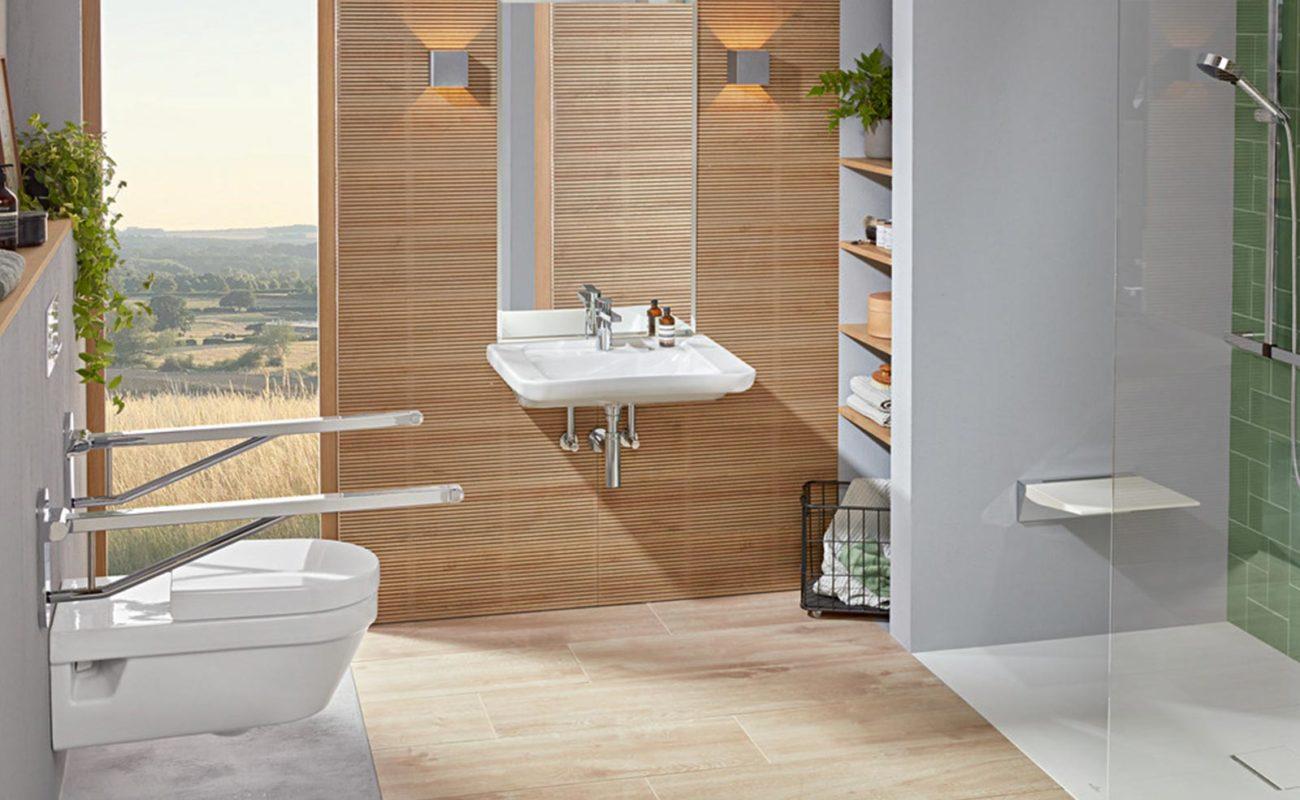 Ideen für ein barrierefreies Bad - ViCare präsentiert Waschbecken