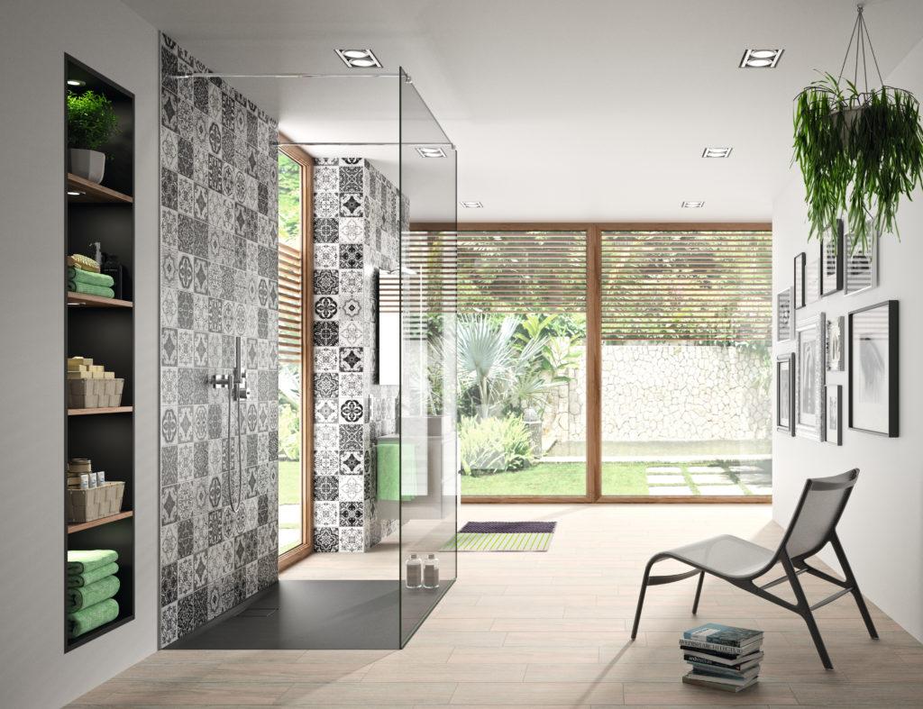 Bodengleiche Dusche Duschfläche oder Fliesen Ideen und Tipps zur ...