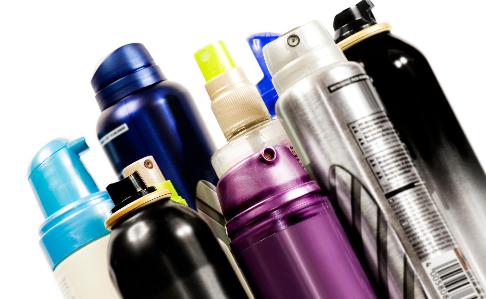 Haarspray und auch andere Spraydosen sollten immer komplett aufgebraucht werden
