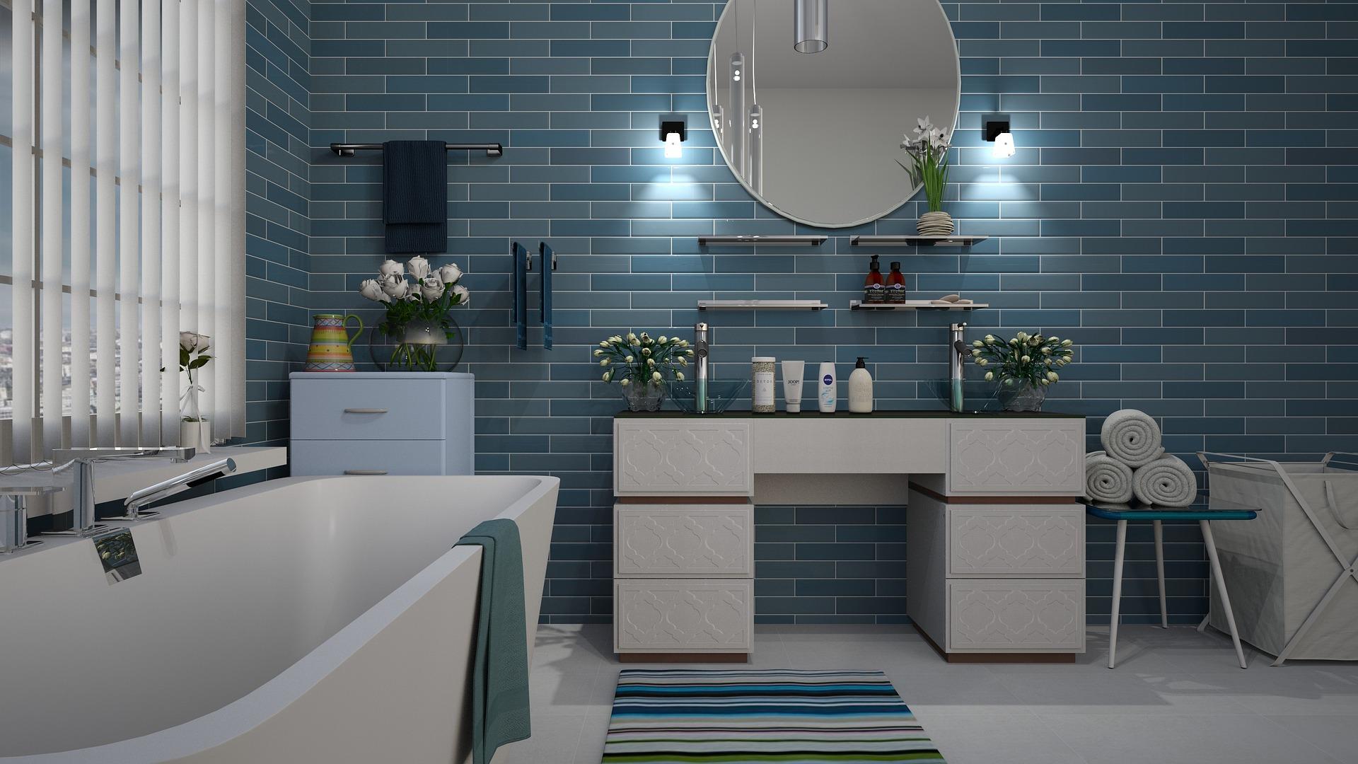 Ist dein Bad klein oder groß? Das solltest du bei der Planung berücksichtigen