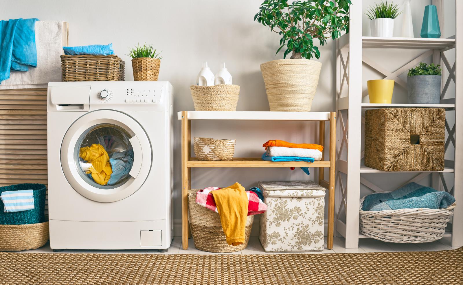 Wie kann ich meine Waschmaschine abschließen?