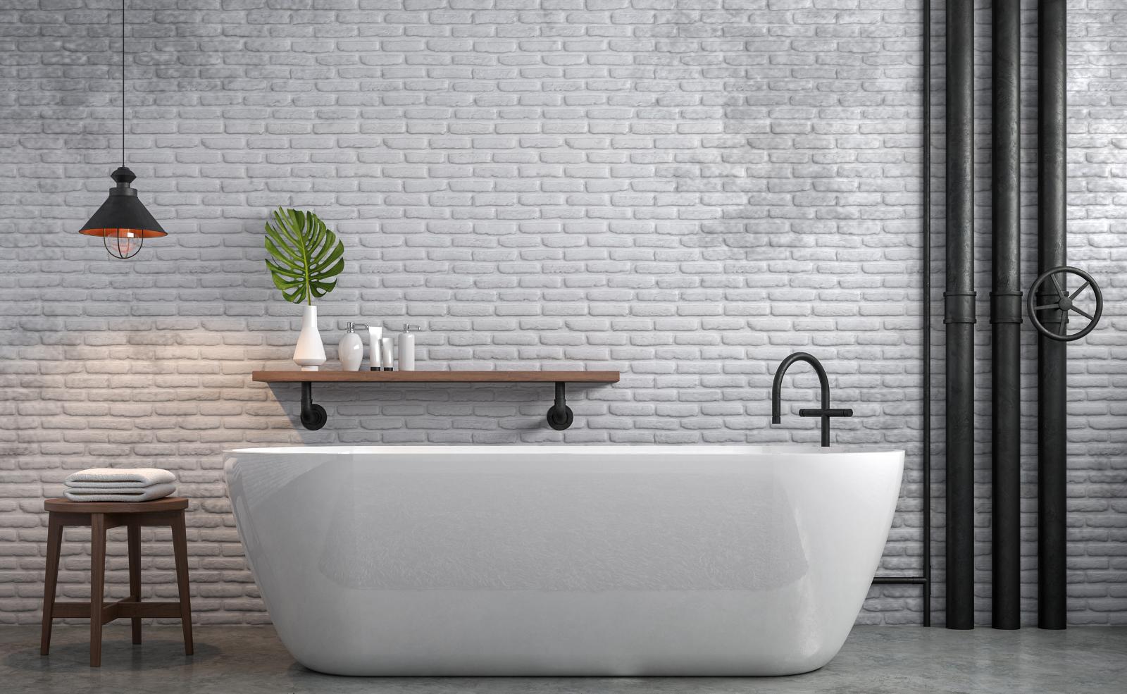 Du wünschst dir Veränderung in deinem Badezimmer? Deine alten Fliesen kannst du ganz einfach überstreichen.