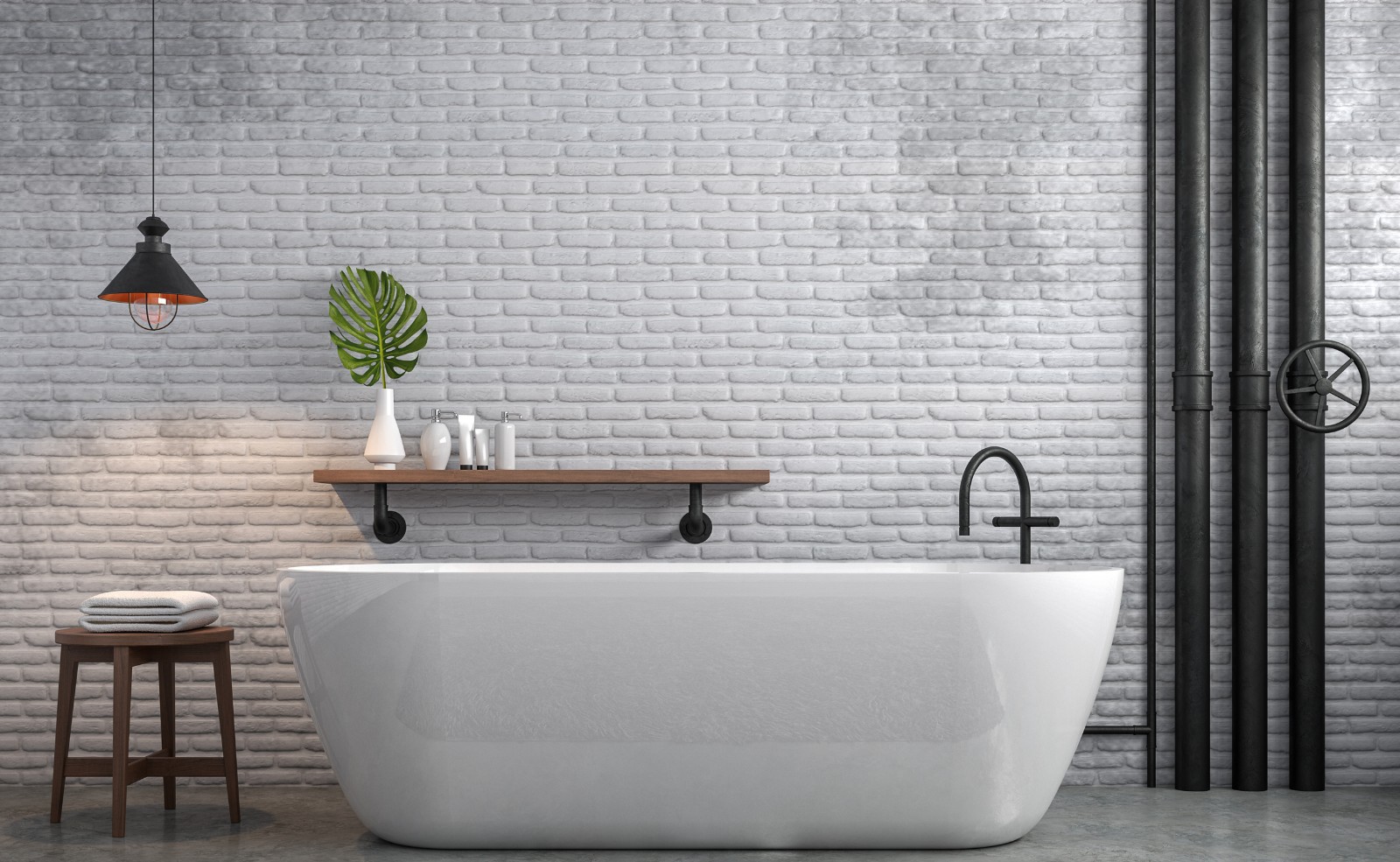 Feuchte Wände im Bad - Was tun?