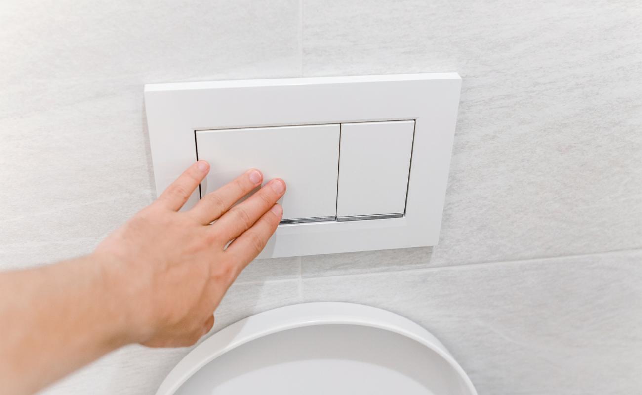 Toilettenspülung läuft: Woran liegt's?