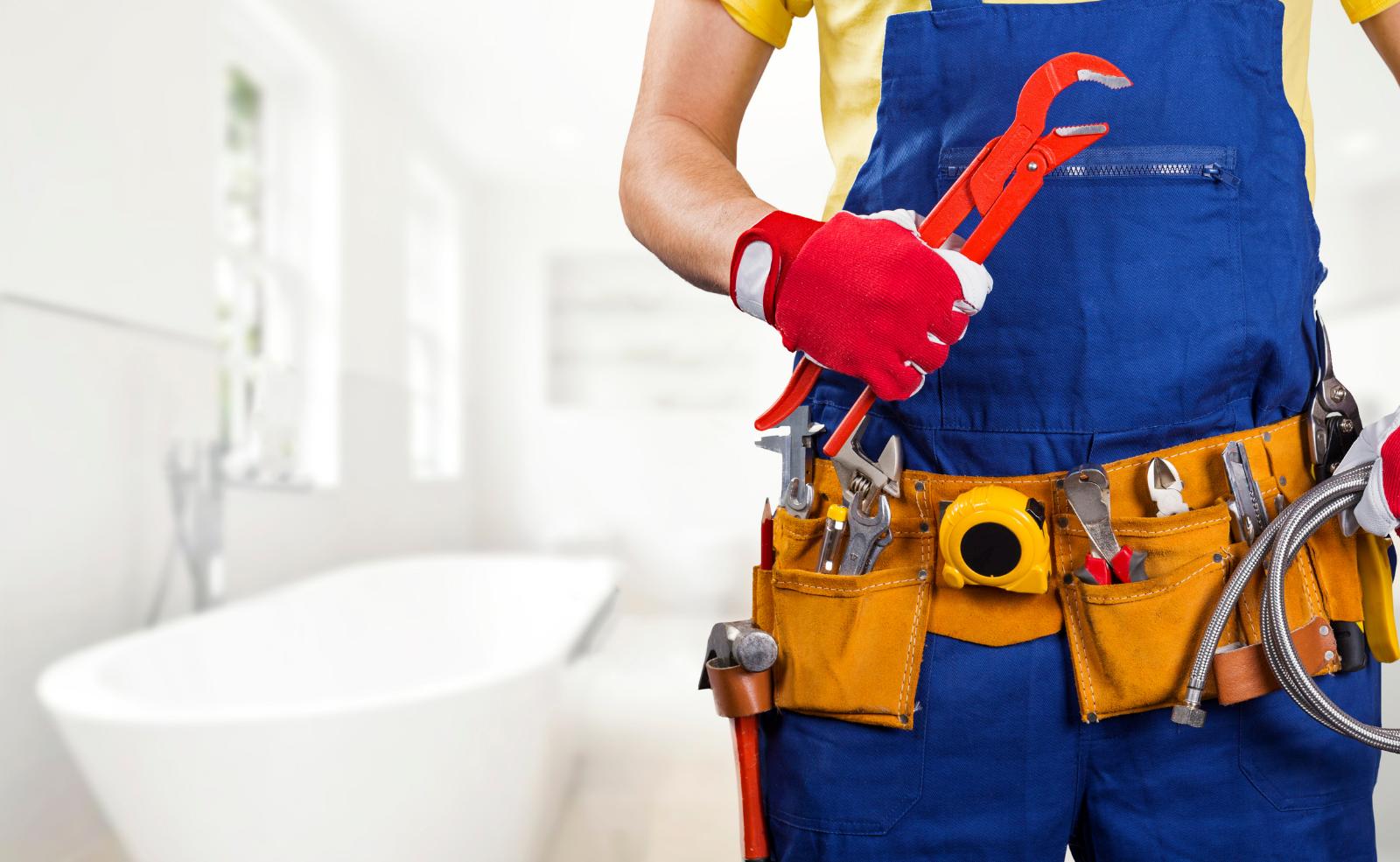 Bei einem mechanischen Problem hilft dir der Klempner.
