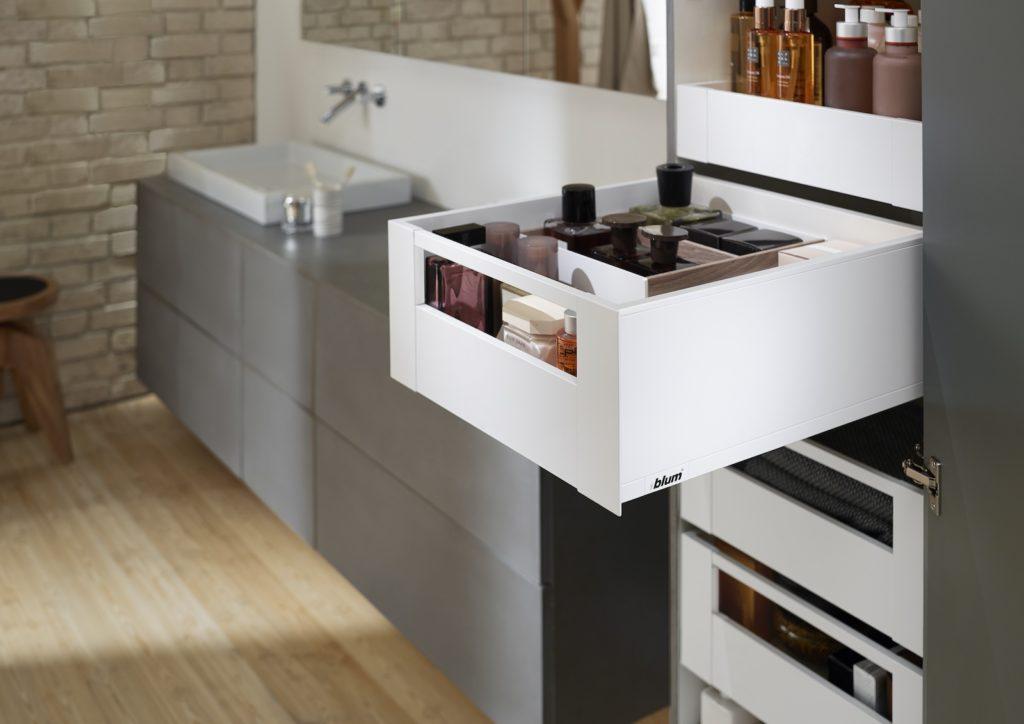Vollausziehbare Schubladen helfen, stets den Überblick zu behalten. Foto: Julius Blum GmbH